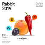 Rabbit 2019 food horoscope