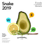 Snake 2019 food horoscope