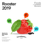 Rooster 2019 food horoscope