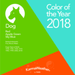 Dog 2018 color of the year