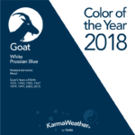 Goat 2018 color of the year