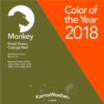 Monjey 2018 color of the year