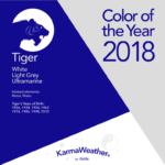 Tiger 2018 color of the year