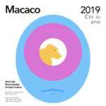 Cor 2019 do Macaco