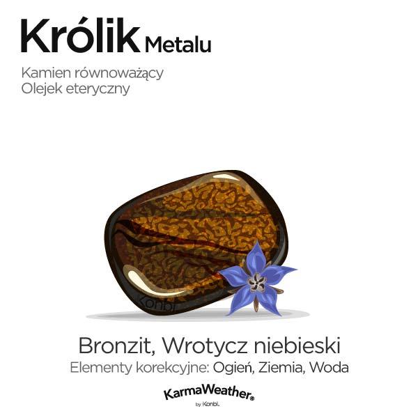 Królik Metalu: kamień równoważący i olejek eteryczny