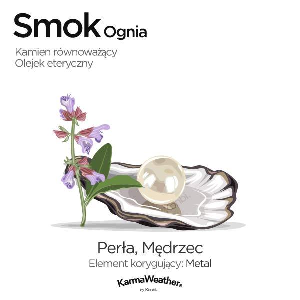 Smok Ognia: kamień równoważący i olejek eteryczny