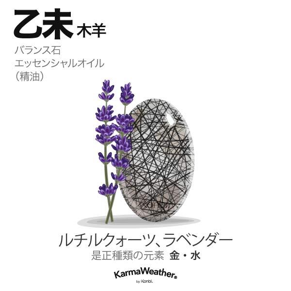 木羊(乙未):バランス石、エッセンシャルオイル
