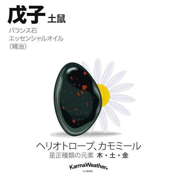 土鼠(戊子):バランス石、エッセンシャルオイル