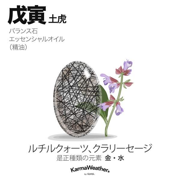 土虎(戊寅):バランス石、エッセンシャルオイル