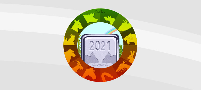 Horoscope chinois 2021   Année du Buffle de Métal