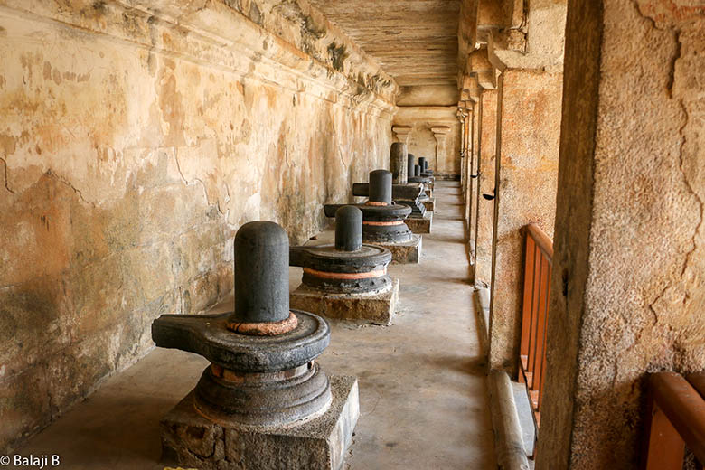 Shiva Lingams of Brihadishvara temple, Tamil Nadu, India, by B Balaji